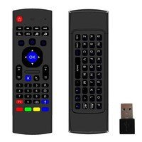2.4ghz airmouse MX3/FM3S Air Mouse Wireless Keyboard + Voice for XBMC Android Mini PC TV Box