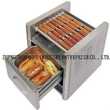 Commercial 24PCS Hot Dog 10 Roller Grilling Machine