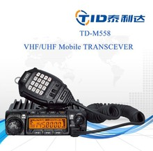 TD-M558 long distance 45w 60w durable uhf vhf fm mobile phone with walkie talkie