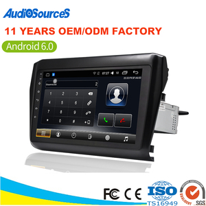 Factory direct chinese radio 1 din car audio system for suzuki swift