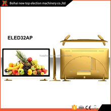 Square screen good service quality promotional eled tv with logo print