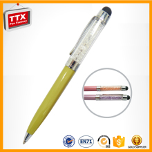 Supplier brand customized sale crystal pen diamond ballpoint pens