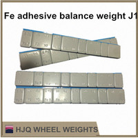 Fe adhesive wheel balance weight for alloy rims