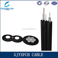 GJYXFCH Self Supporting Bow Type drop cable 2 core fiber optic cable used on hot sexy girl video