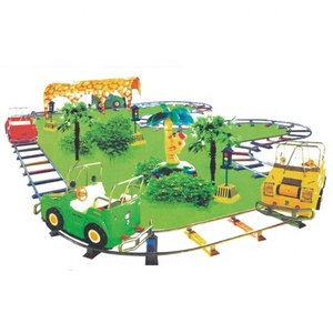 2018 newest amusements park rides electric model train for sale