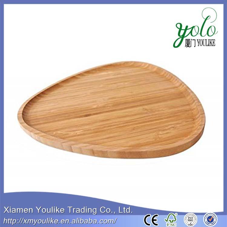 Bamboo Tea, Coffee,Snack Serving Triangle Tray 2.jpg
