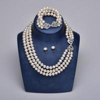 cultured pearl necklaces/cheap pearl jewelry sets