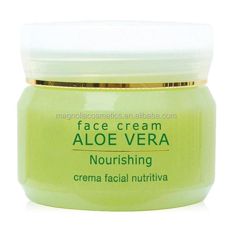Organic Aloe Vera face Cream with shea butter
