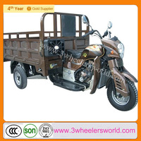 China Supplier Lifan brand 250cc engine used three wheel covered motorcycle sidecar /Gasoline Cargo Tricycle
