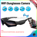 Outdoor Wifi Sports Sunglasses camera,HD1080P Amazing Wifi Sunglasses camera,Eyewear sunglasses video recorder