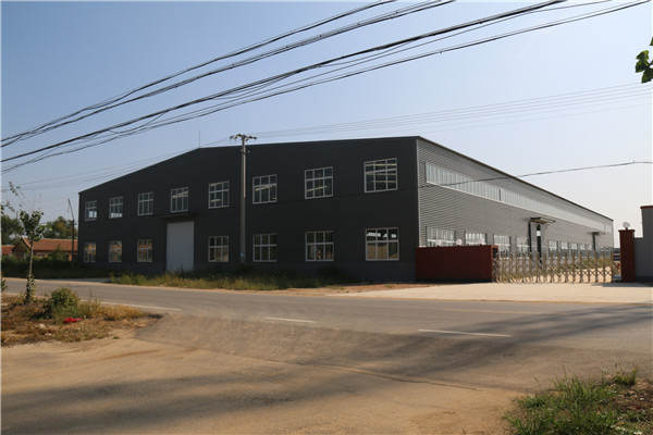 single rim beering connected steel frame warehouse