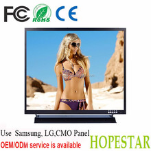 Metal Case 7 inch CCTV BNC monitor with Piano paint Technology