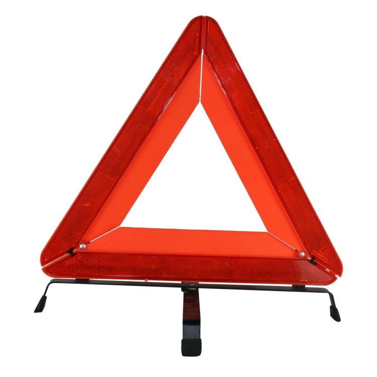 2017 Emergency LED warning triangle portable and foldable highway safety kit warning triangle