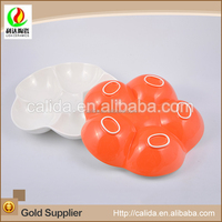 Hot wholesale customized eco-friendly 10.5 inch easy plum dish