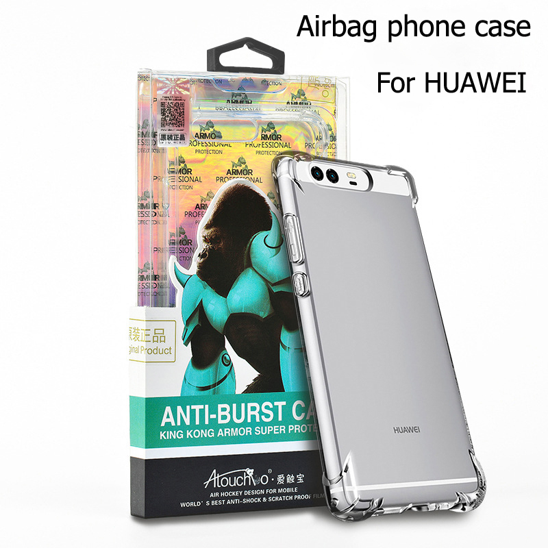 Atouchbo New Transparent Cover Mobile Wholesale Clear Phone Case For Huawei p10 plus