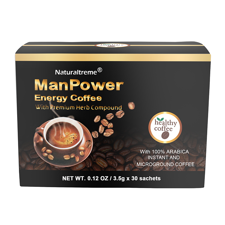 Maca Tongkat Ali Coffee Boost Male Power Potency Products