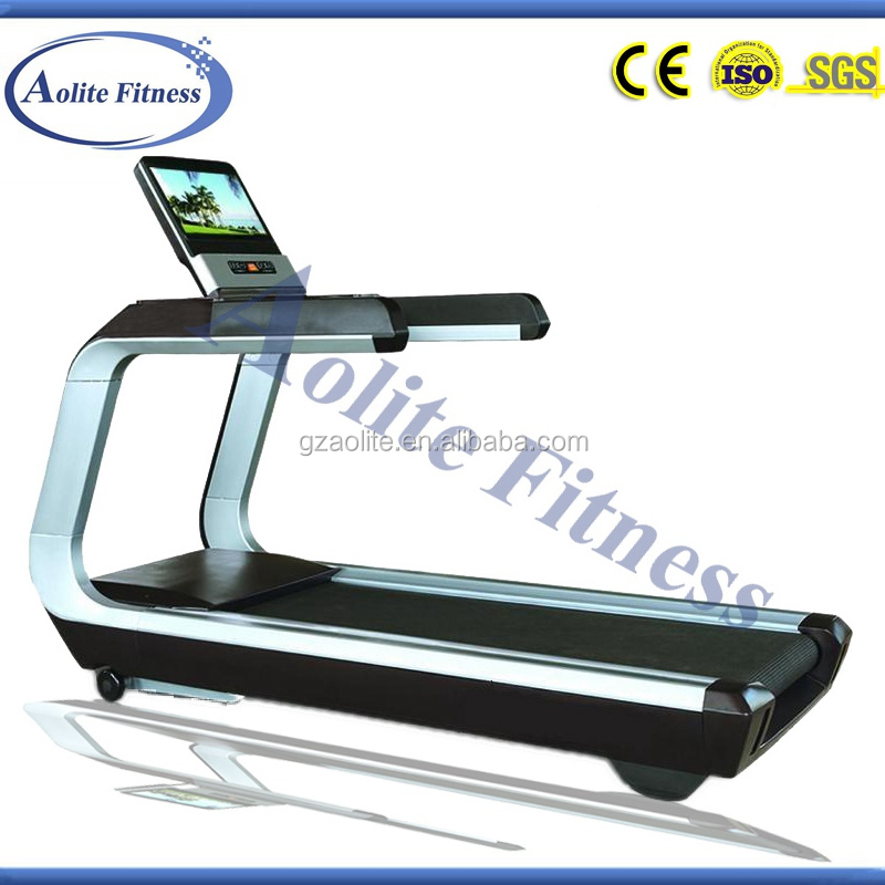 Wholesale Luxurious Gym Fitness Equipment / AC Motor Treadmill