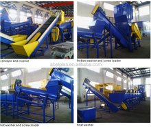 waste plastic recycling 1000 kg h pp pe/waste plastic recycling plant/PP woven bag recycling machine