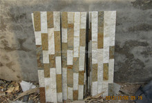 good price Golden white quartzite tile