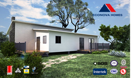 Econova Modular prefab flat pack container house
