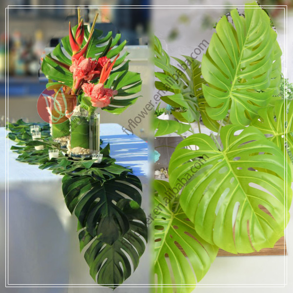 artificial leaves party table decorative wreaths wholesale factory direct price 140240
