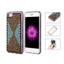[somostel]Best Selling Moible Phone Cover, latest 5g mobile phone case,2017 for iphone 7 Electroplating TPU Case