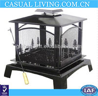 Outdoor Freestanding Metal Fireplace