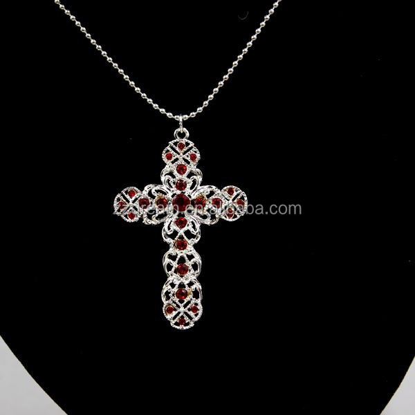 Religious Cross Necklace Fashion Jewelry Wholesale