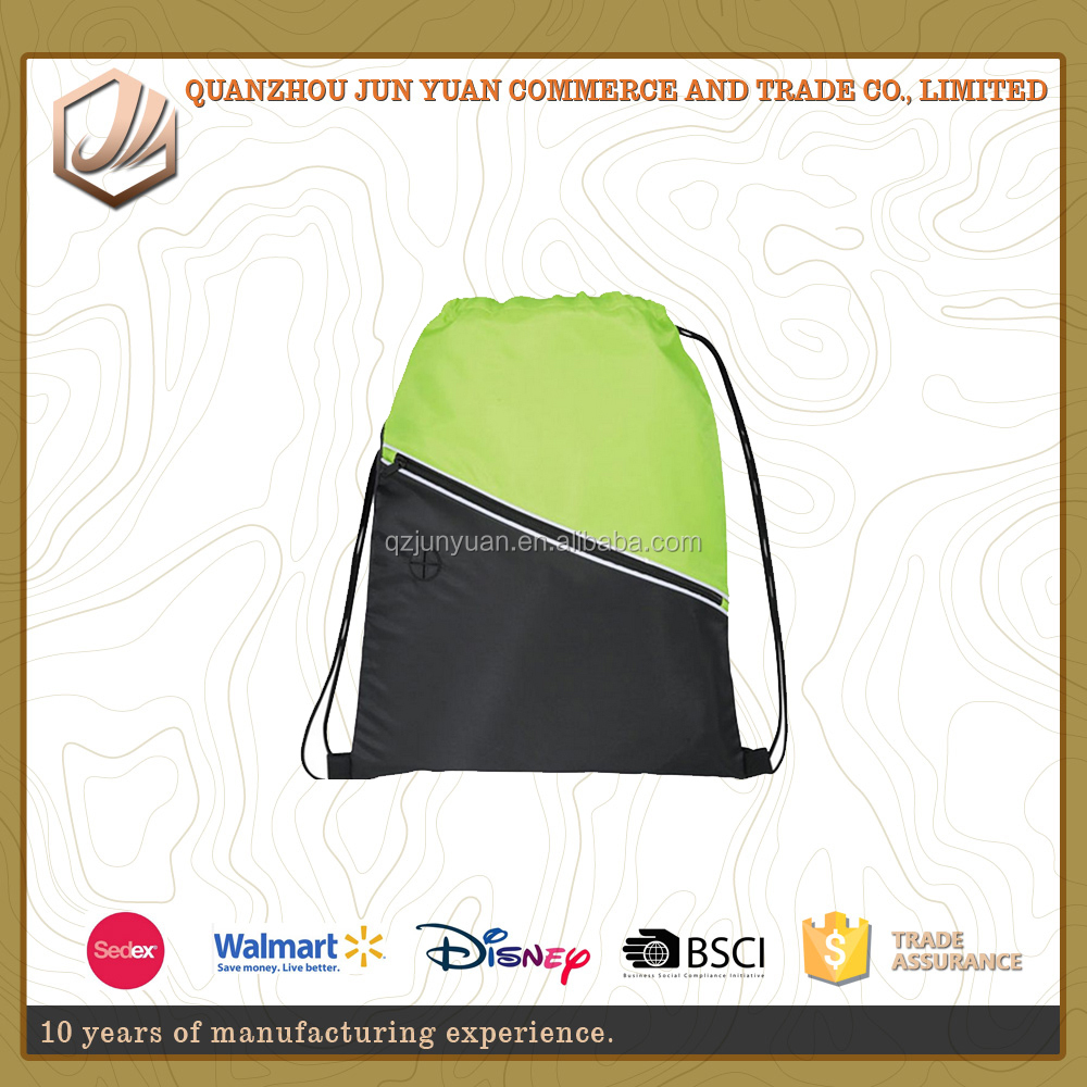fashion outdoor school backpack supplier wholesale leisure drawstring backpack with flap