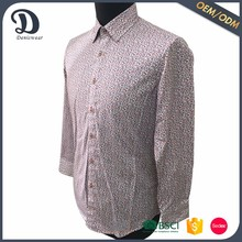 Wholesale broken flower model man shirt