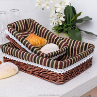 china supplier handmade picnic basket laudry wicker basket for sale
