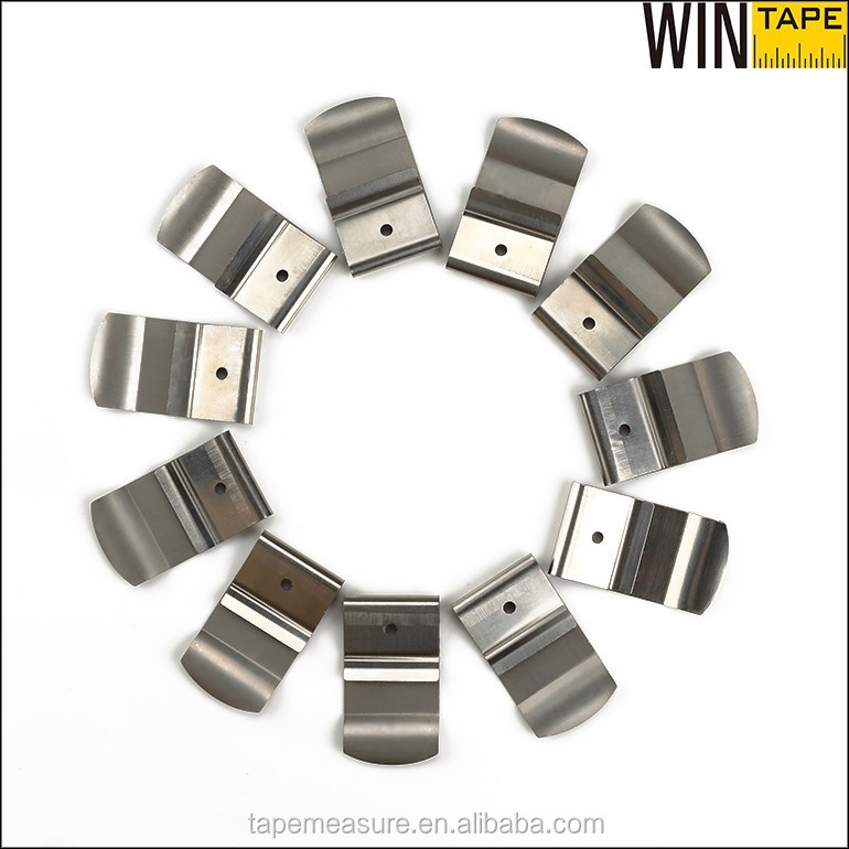 High Quality Flat Stainless Steel Metal Spring Belt Clip