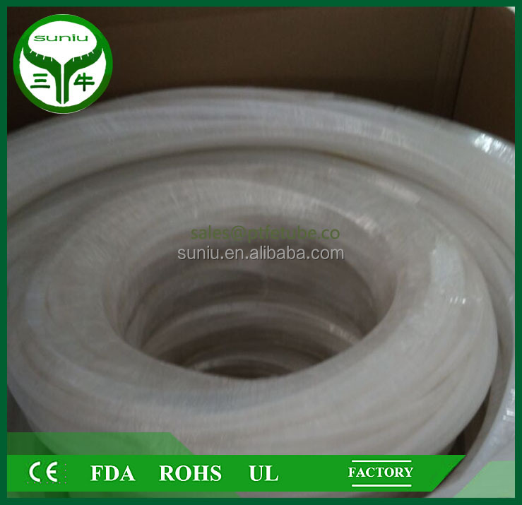 PTFE tube for sealing/seal ring exhaust pipe /plastic hose / SUNIU
