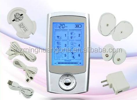 mini electronic pulse massager / portable massage tens unit / tens unit health massager