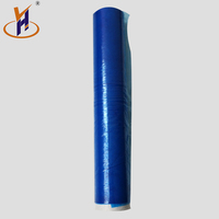 Multifunctional black / transparent stretch wrap film for industri lldpe in roll size 80GA*18