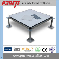 PVC finish anti static steel raised access floor system