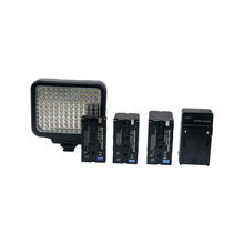 Factory cheap cost-effective 7.2w 500k/6000k led-5009 video light with 120 pcs bulbs for DV camcorder camera