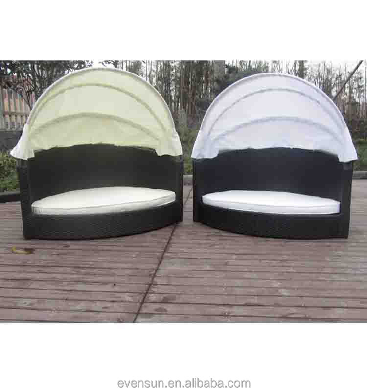 Dog Bed Rattan With Canopy