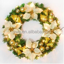 traditional series christmas decorative wreath decoration suppliers diameter natural xmas rattan wreath for sale