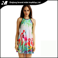 Chinese Ink Painting Color Contrast Dylan Casual Sexy Digital Printing Wholesale Fashion Camisole