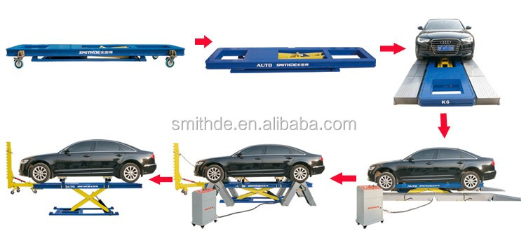 European Style Car Frame Machine /Aligment Racks/High Quality for Sale