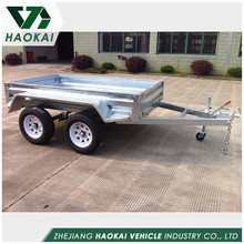 Wholesale OEM Blow Molding four wheel utility farm trailer plastic four-wheel box trailer Huizhou factory