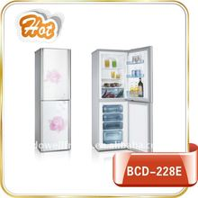 BCD-228E combi fridge freezer