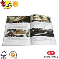 Custom Softcover Magazine Printing With Perfect