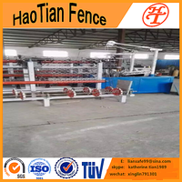 used fully-automatic chain link fence machine for sale