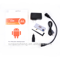 android 4.2 tv stick quad core 1.6ghz support Miracast,XBMC youtube S400 tv stick S400