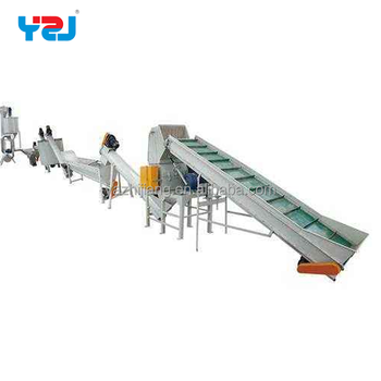 High Quality Plastic Recycle PE PP Film Washing Recycling Line
