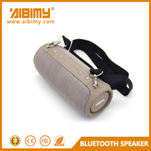 NEW MODEL soft fabric bluetooth speaker with fm radio portable wireless mini usb sd card reader