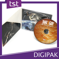 CD / DVD Digipak Packaging with Surface Cover Printing
