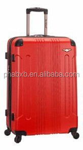 most spacious and durable abs big trolley bag travel